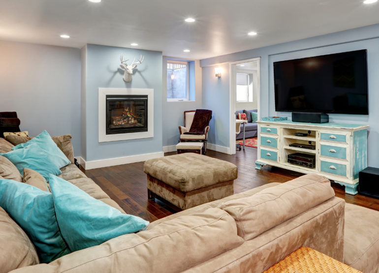 Five easy hacks to help redecorate your basement